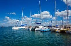 Yacht marine in Cienfuegos, Royalty Free Stock Photography