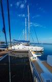 Yacht marine in Cienfuegos. Cuba Royalty Free Stock Photography