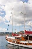 Yacht in Marmaris, die Türkei lizenzfreie stockfotos