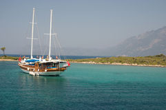 Yacht - Marmaris Turkey Royalty Free Stock Images