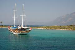 Yacht - Marmaris Turkey royalty free stock images