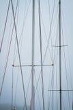 Yacht mast Stock Image