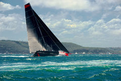 Yacht mega di navigazione navigazione Yacht di lusso Fotografia Stock