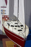 Yacht model Royalty Free Stock Image