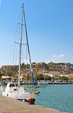 Yacht near Nafplio, Greece Stock Photography