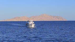 Yacht nell'Egitto archivi video