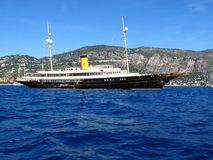 Yacht Nero del motore Immagine Stock Libera da Diritti