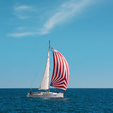 Yacht Nimana in Regatta Pro-Am Race Royalty Free Stock Images