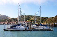 Yacht Parking Stock Images