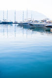 The yacht parking Stock Photo