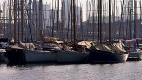 Yacht Parking in Barcelona, Spain