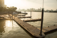 Yacht pier Stock Photography