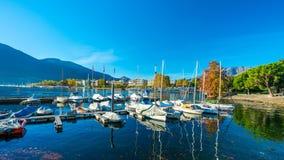 Yacht Pier Port Sea Harbour fotografia stock libera da diritti