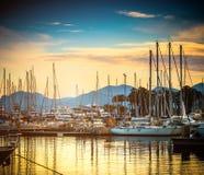 Yacht port Royalty Free Stock Photo