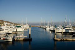 Yacht port royalty free stock image