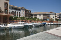 Frejus marina Royalty Free Stock Photos