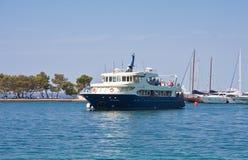 Yacht port.  Brijuni. Croatia Stock Image