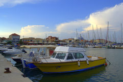 Yacht port,Lefkada,Greece Royalty Free Stock Photography