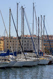 Yacht Port Marseille Royalty Free Stock Images