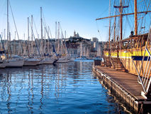 Yacht port in Marseille, France Royalty Free Stock Photos