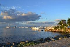 Yacht port Stock Image