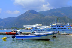 Yacht port,Nydri Lefkada Greece Stock Photography