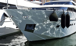 Yacht at Port Stock Photography