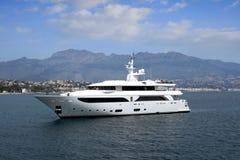 Yacht privé photo stock