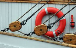 Yacht Pulleys Stock Images