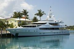 Yacht rêveur Photographie stock libre de droits