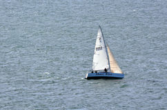 Yacht racing Royalty Free Stock Photo