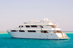 Yacht on the Red Sea Stock Images