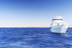 Yacht in the Red Sea. Egypt. Stock Images