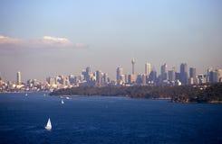 Yacht Regatta. At Sydney Harbor, Australia Stock Images