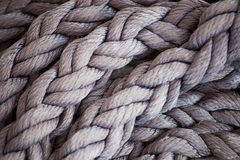 Yacht Rope Stock Photography