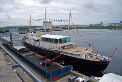 Yacht royal Brittania Photo stock