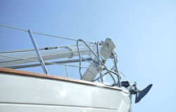 Yacht-Rumpf Stockfotos
