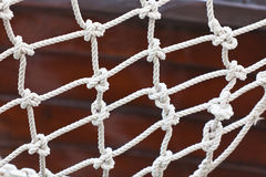 Yacht Safety Net Close Up Royalty Free Stock Photography