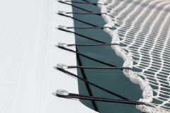 Yacht Safety Net Close Up Royalty Free Stock Photos