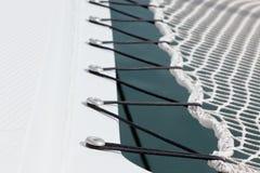 Yacht Safety Net Close Up. Horizontal shot Royalty Free Stock Photos