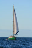 Yacht sail in the Bay of Islands New Zealand Royalty Free Stock Images