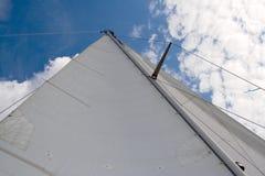 Yacht sail hor Royalty Free Stock Photography