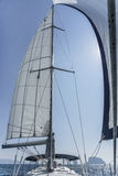 Yacht sailing in andaman sea Thailand Stock Photo