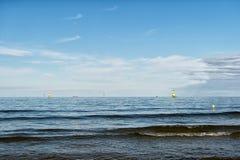 Yacht or sailing boat sails Stock Image