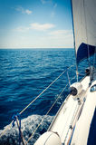 Yacht Sailing Sailboat Stock Photos