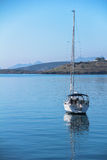 Yacht and sailing vessels anchored in Bodrum Royalty Free Stock Photography