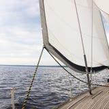 Yacht. Sailing. Yachting. Tourism. Royalty Free Stock Image