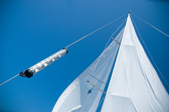 Yacht sails Royalty Free Stock Photos