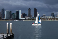 San Diego Sailing Stock Images