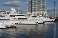 Yacht in San Diego Stockfoto
